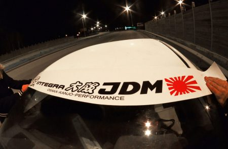 Integra DC Kanjo Honda Windshield banner Logo sun strip visor window Sticker decal kanjozoku kanjostyle