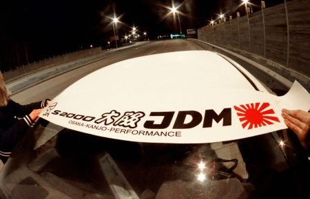 S2000 AP1 AP2 Kanjo Osaka JDM Honda Windshield banner Logo sun strip visor window Sticker decal kanjozoku kanjostyle